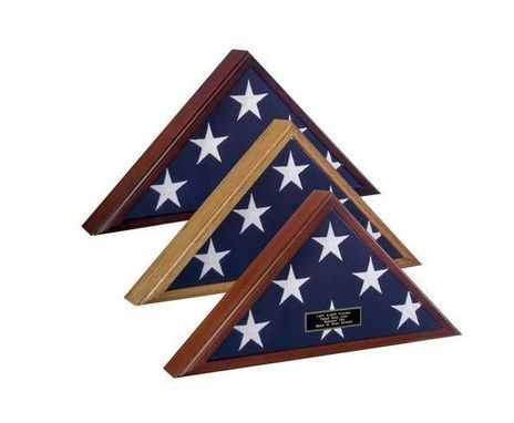 Custom Made High Quality-Flag Display Case American Made