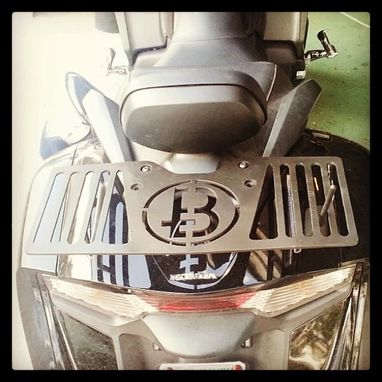 Custom Made 2013 Honda Goldwing Luggage Rack