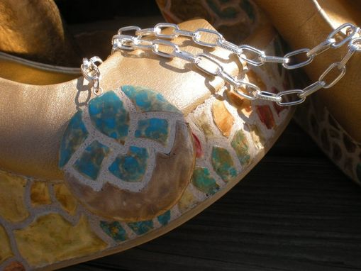 Custom Made Fashion Projects - Mosaic Tile Shoes & Accessories