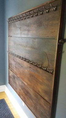 Custom Made Rustic Coat Rack