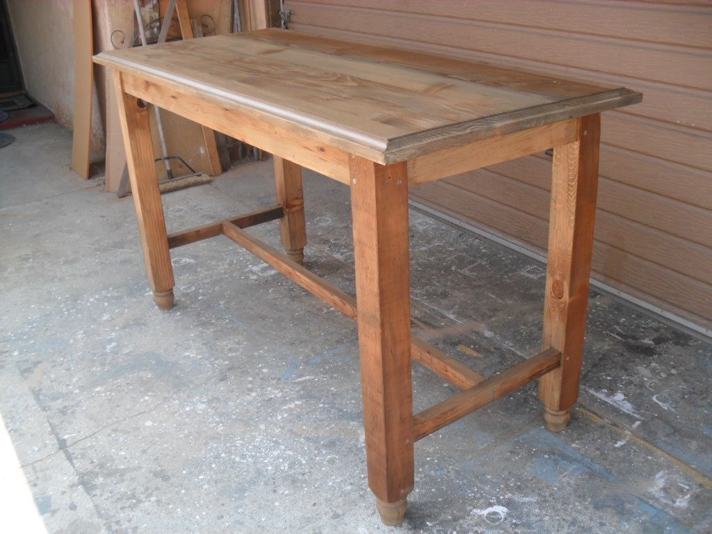 Custom Made Reclaimed Wood Gathering Table In The Usa From