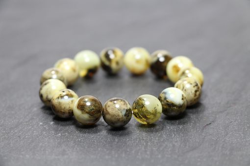 Custom Made Marble - Baltic Amber Bracelet