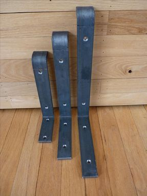 Custom Made Heavy Duty Steel Shelf Brackets