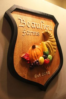 Custom Made Farm Signs | Custom Carved Wood Signs | Handmade Signs | Plantation Signs