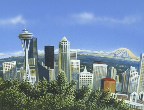 Custom Made Seattle Skyline