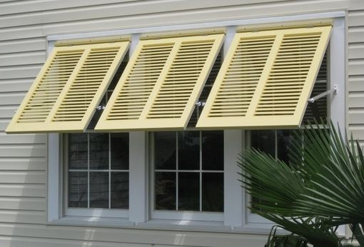 Custom Made Bahama Style Shutters