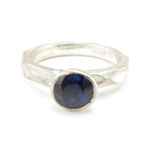 Custom Made Custom™ Collection Blue Sapphire Stackable