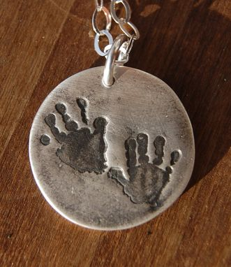Custom Made Custom Foot Or Hand Print Jewelry