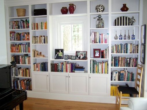 Custom Made Library Bookshelving