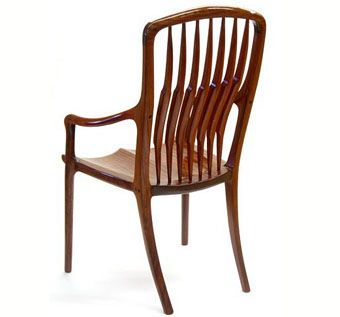 Custom Made Armstrong Chair In African Rosewood