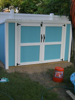 Custom Made Backyard Tool Shed