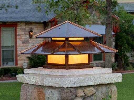 Custom Made Double Roof Post Lantern