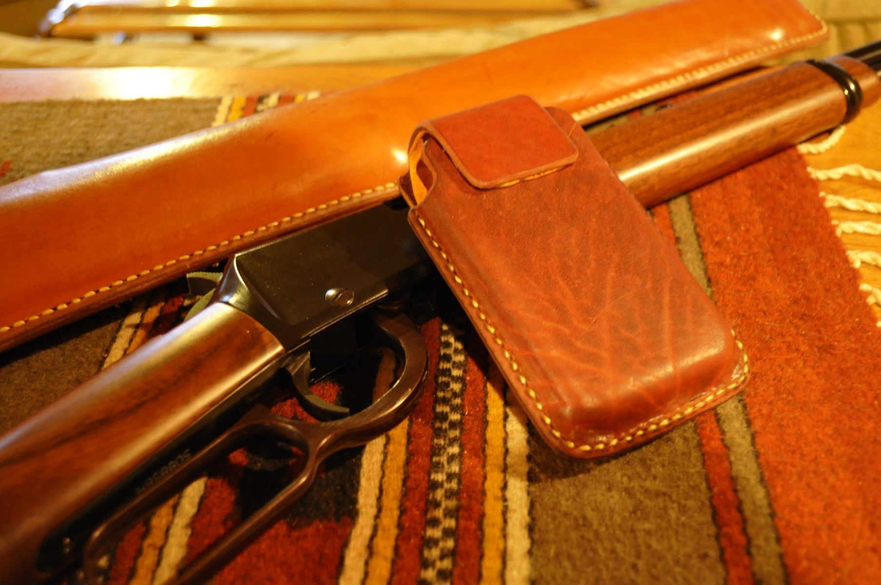 Hand Made Leather Cell Phone Holsters By Blake Underwood