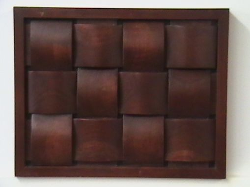 Custom Made Woven Cherry Panel