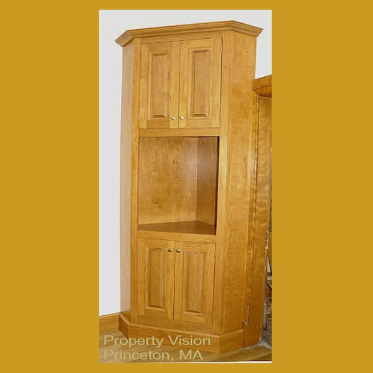 Hand Made Corner Cabinet Built In By Property Vision Llc