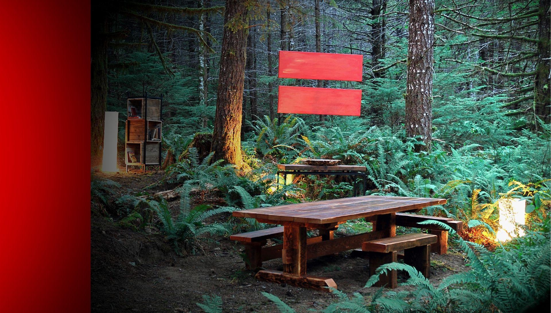 Custom Reclaimed Timber Frame Trestle Dining Table Farm