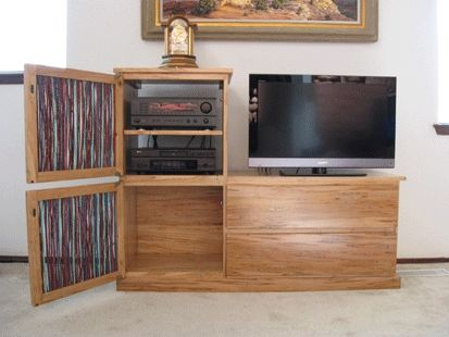 Custom Made Flat Screen Tv Entertainment Center