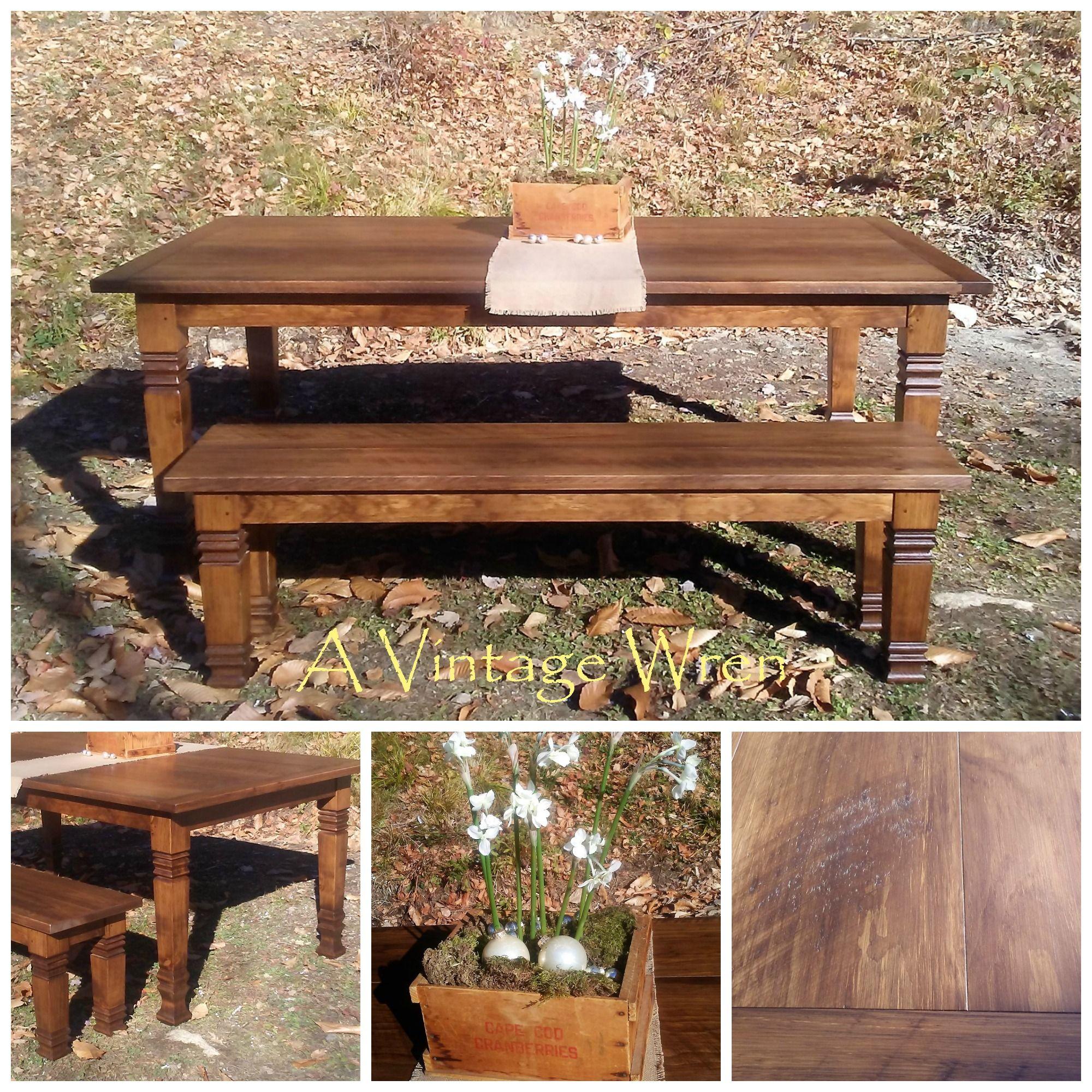 Handmade Farm Tables/Harvest Tables/ Farmhouse Style