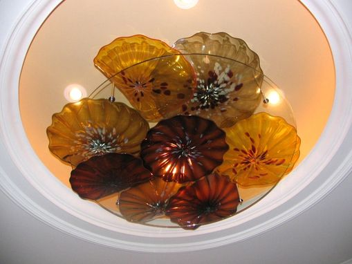 Custom Made Ceiling Platter Sculpture