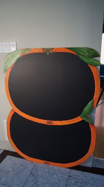 Custom Made Ttangerine Food Truck Chalkboard * Custom Made For Truck Installation