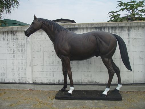 Custom Made Bronze Race Horse | Life Size Bronzes - Cast Bronze Statues & Sculptures - Lost Wax Process