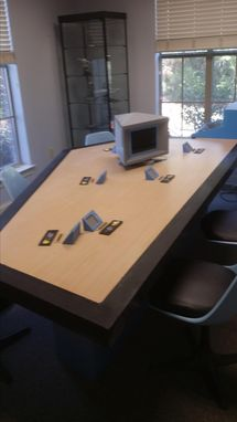Custom Made Tos Star Trek Briefing Room Table