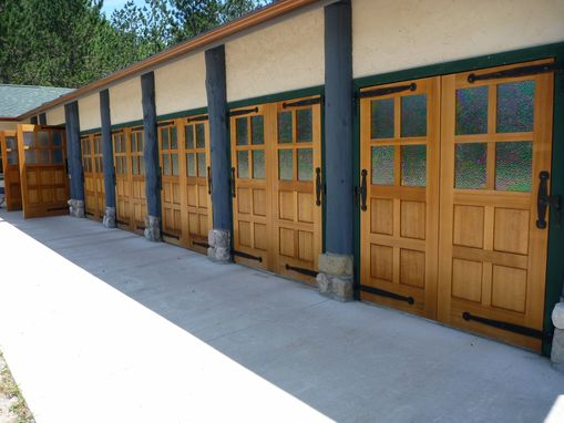 Custom Made Carriage Doors