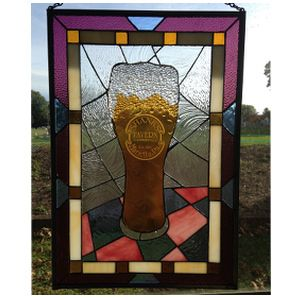Custom Made Beer Windows: Ipa Version With Etching