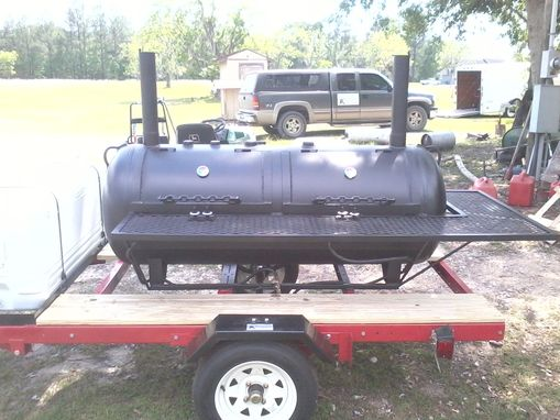 Custom Made All Propane Grill