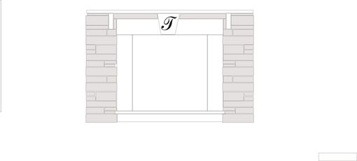 Custom Made Soapstone Fireplace Surround