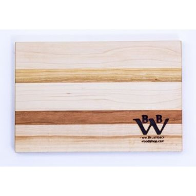Custom Made Maple And Cherry Cutting Board | Personalized Engraved
