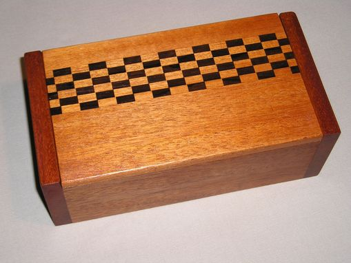 Custom Made Checkerboard Box