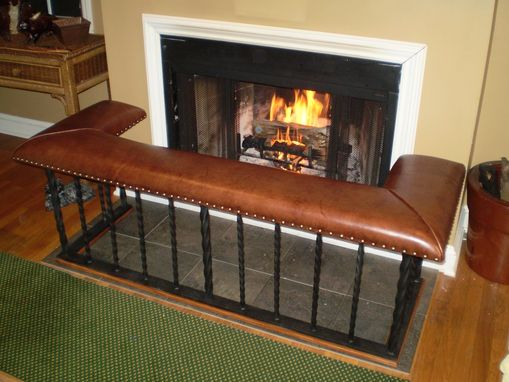 Custom Made Club Fender Fireplace Bench - The 'Full' Model