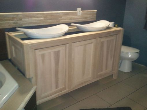 Custom Made Bathroom Vanity In Progress