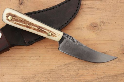 Custom Made Hand Forged Skinning Knife O1 Tool Steel Hunting Fire Creek Forge Williams Built Blades