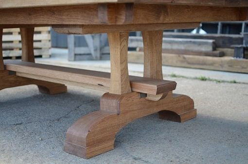 Custom Made Industrial Farmhouse Nordic Dining Table