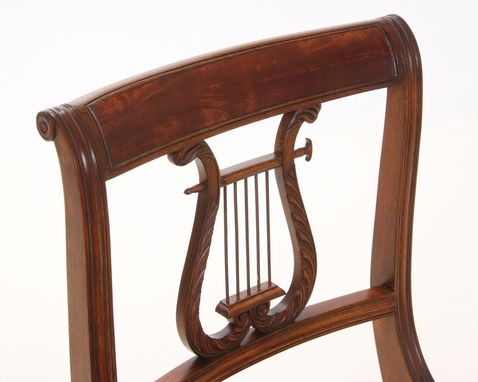 Custom Made Lyre-Back Chair