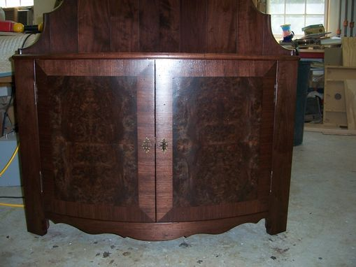 Custom Made Corner Tv Cabinet