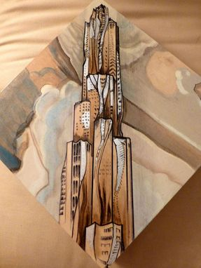 Custom Made New York By Gehry On Responsibly Sourced Birch Wood Panel