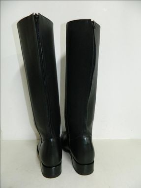Custom Made Made To Order 18¨ Tall Roper Boots With Back Zipper And Leather Soles All Sizes