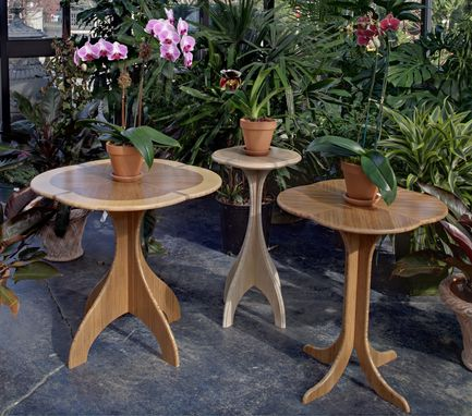 Custom Made Bamboo Cafe Or Occasional Table