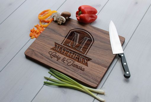 Custom Made Personalized Cutting Board, Engraved Cutting Board, Custom Wedding Gift – Cb-Wal-Matthews