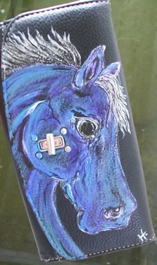 Custom Made Custom Horse Wallet