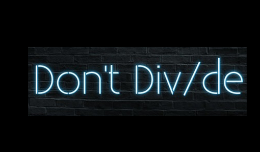 Custom Made Don't Div/De Neon Sign