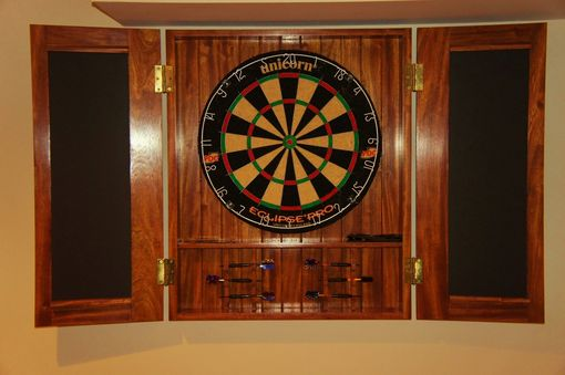Custom Made Dart Board Cabinet