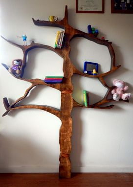 Custom Made Tree Bookcase