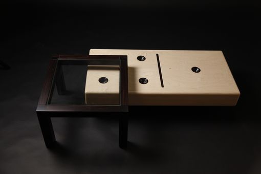 "Custom Made ""Domino"" Cocktail Table"