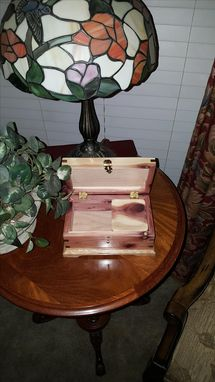 Custom Made Keepsake / Jewelry Boxes 100% Solid Hardwood