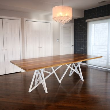Custom Made Chaos Dining Table - Walnut