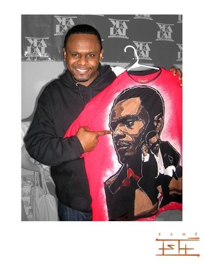 Custom Made Custom Shirt Created For Carl Thomas